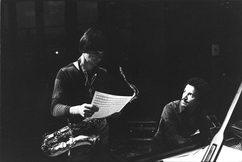 Jan Garbarek med Keith Jarrett (foto: Roberto Masotti/ECM Records)