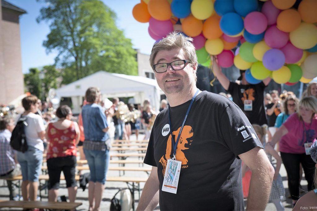 Kai Gustavsen fra Kongsberg Jazzfestival. Foto: Irene Lislien/Kongsberg Jazzfestival