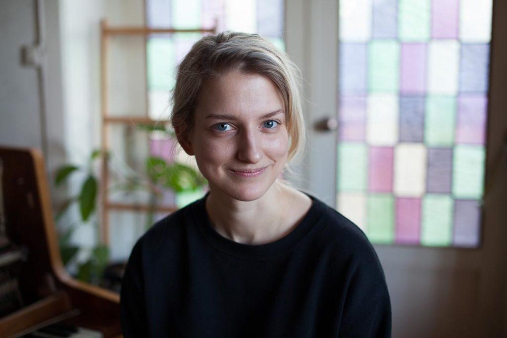 Guostè Tamulynaitè fra Litauen fant den musikalske friheten i Oslo. Denne helgen har hun to konserter. Foto: Jenny Berger Myhre