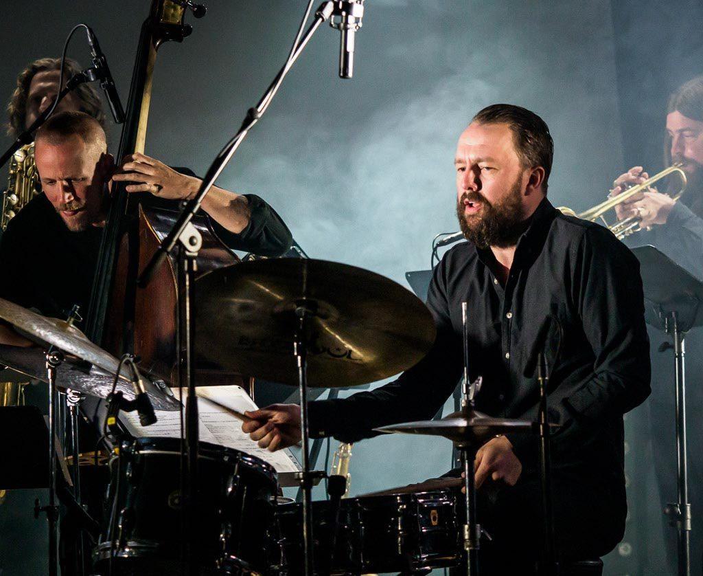 Gard Nilssen brukte residencyen sin på å fremheve working bands og de små og store sammenhengene i norsk jazz. Foto: Thor Egil Leirtrø/Moldejazz