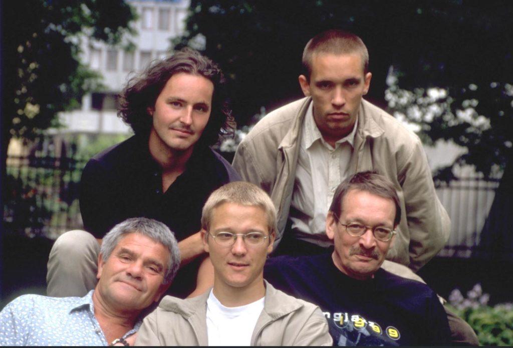Ketil Gutvik, øverst til venstre, møter vi i Jazznytt18 på Sentralen tirsdag kl 13 og med The Quintet på Nasjonal jazzscene kl 18. (pressefoto)