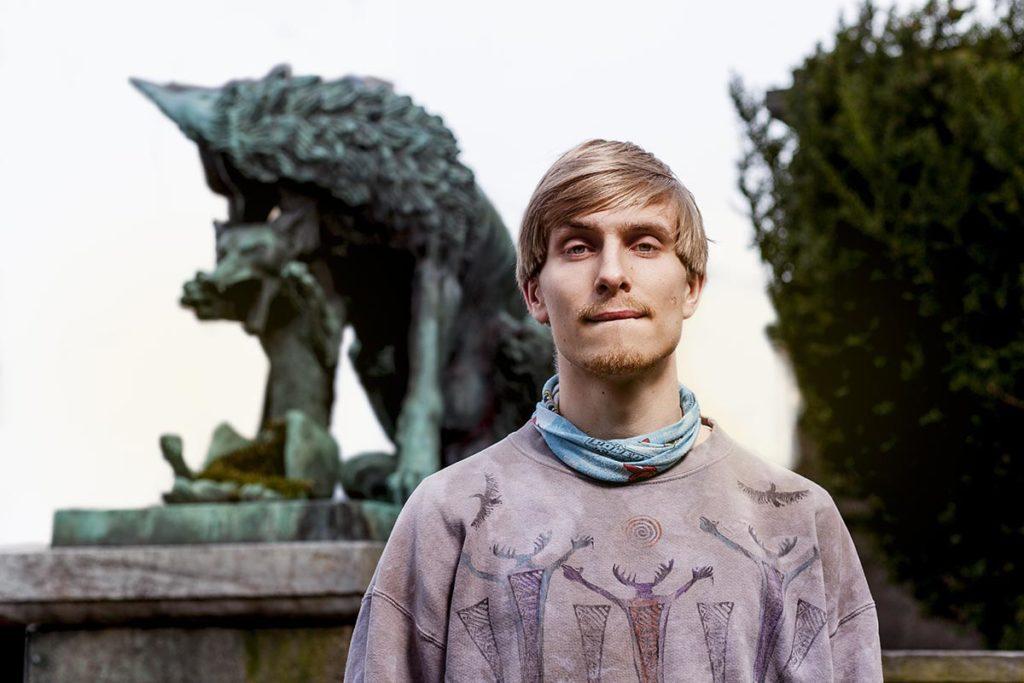 Now's The Time snakker med Hans Hulbækmo om hvordan det blir å fremføre all musikken fra 12 plater på Kafé Hærverk i løpet av neste uke. Foto: Niklas Lello
