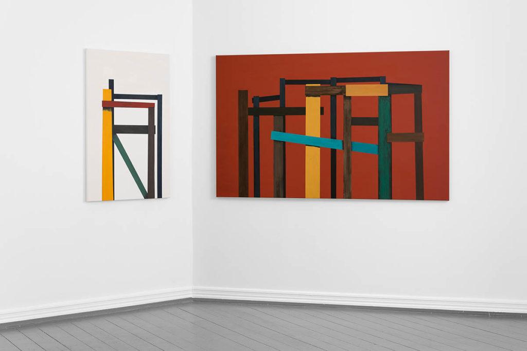 Kunstmaler og jazzelsker Fredrick Arnøy avslutter sin strålende utstilling med mye konstruktiv melankoli i lokalene til Landsforeningen Norske Malere i Oslo denne helgen.